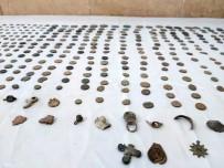 KAÇAKÇILIK - Jandarma KOM 570 Parça Tarihi Eser Ele Geçirdi