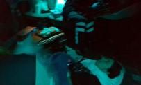 DOĞUM SANCISI - Polis Helikopteri Doğum Yapan Kanamalı Hasta İçin Gece Uçtu