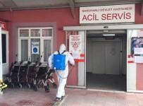 HASTANE YÖNETİMİ - Saruhanlı Devlet Hastanesi Dezenfekte Edildi