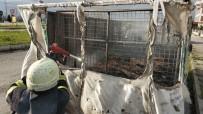 GERİ DÖNÜŞÜM - Seyir Halindeki Kamyonette Yangın Çıktı