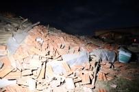 Yozgat'ta Mandıra Çöktü Açıklaması 6 Hayvan Telef Oldu