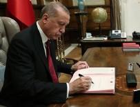 CUMHURBAŞKANLIĞI - Erdoğan imzaladı! Resmen değişti...