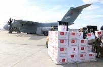 KARGO UÇAĞI - Türkiye'den 5 ülkeye yardım!