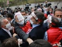 TAKSIM MEYDANı - DİSK Başkanı ve 25 işçi gözaltına alındı