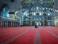 SÜLEYMANIYE - Süleymaniye Camisi'nde salgın mahzunluğu