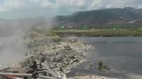 YUMURTA - İlçe sakinlerinde büyük endişe! Açıklanamayan yükseliş depremin habercisi mi?