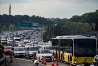 TRAFİK YOĞUNLUĞU - İstanbul'da bu sabah! Trafik yeniden kilitlendi