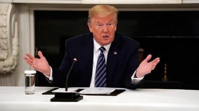 Trump o soruyu duyunca toplantıyı terk etti!