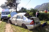 Muğla'da Trafik Kazası Açıklaması 3 Yaralı