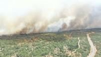 KUZEY KıBRıS TÜRK CUMHURIYETI - KKTC'de büyük yangın! Türkiye harekete geçti