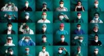 SAĞLIK PERSONELİ - Koronavirüs mücadelesindeki kahramanlarımız sağlık çalışanları objektif karşısında