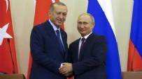 SURİYE - Cumhurbaşkanı Erdoğan, Putin ile görüştü