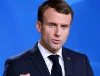 İSVIÇRE - Macron Avrupa ülkelerini suçladı!