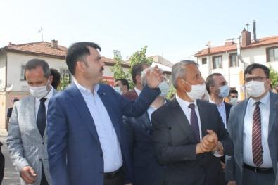Bakan Kurum, Çankırı'da Yapımı Devam Projeleri İnceledi