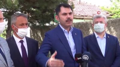 Çevre Ve Şehircilik Bakanı Murat Kurum Çerkeş'te İncelemelerde Bulundu Açıklaması