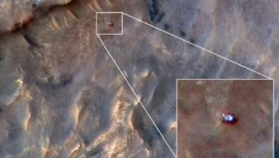 Mars'ta çekilen kan donduran görüntüler dünyayı şaşkına çevirdi! NASA ilk kez yayınladı...