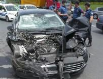 TRAFİK YOĞUNLUĞU - AK Partili vekil kaza geçirdi!