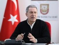 KARA KUVVETLERİ KOMUTANI - Bakan Akar, TSK'daki pozitif vaka sayısını açıkladı