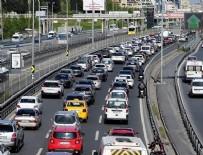 EDİRNE - İstanbul'da son ayların en yoğun trafiği
