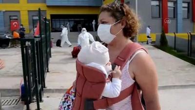 Kırşehir'de Karantina Süreleri Dolan 209 Kişi Evlerine Uğurlandı