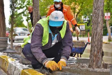 Aksaray Belediyesi Şehir Genelinde Güzelleştirme Çalışması Başlattı