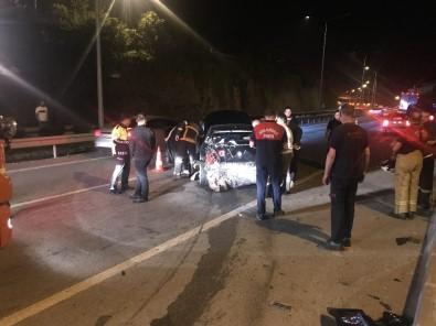 Giresun'da Trafik Kazası Açıklaması 1 Yaralı