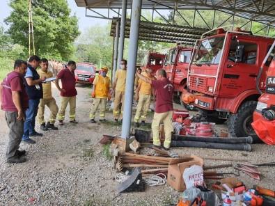 Orman Yangınları İle Mücadele Hazırlıkları Devam Ediyor