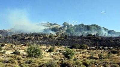 GÜNCELLEME - Bodrum'da Makilik Ve Otluk Alanda Yangın