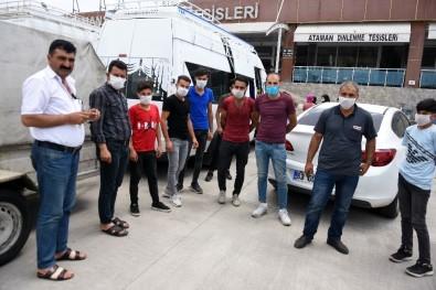 Kıbrıs'ta Mahsur Kalan İşçiler Memleketlerine Ulaştı