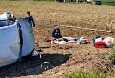 Aksaray'da 4 Kişinin Yaralandığı Kazadan Sonra Çekilen Görüntüler Yürek Burktu