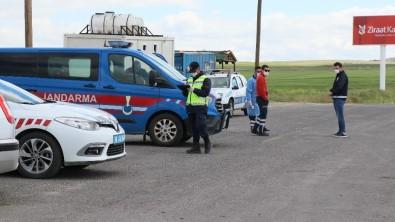 Aksaray'da Sınırlandırma Kapsamında Kara Yolları Denetim Altında