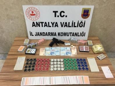 Alanya'da Lüks Villaya Kumar Baskını Açıklaması 17 Gözaltı