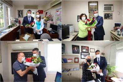 Başkan Sandal'dan Muhtarlara Bayram Ziyareti