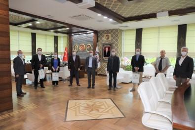 Başkan Söğüt, Belediye Personeli İle Bayramlaştı