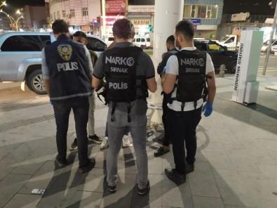 Cizre'de Sokağa Çıkma Kısıtlaması Öncesi Uyuşturucu Denetimi