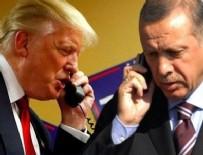 SURİYE - Erdoğan Trump'la telefonda görüştü