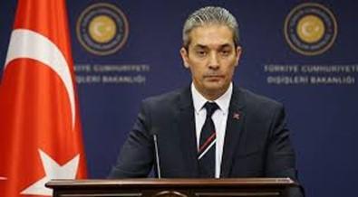 Dışişleri Bakanlığı Sözcüsü Aksoy'dan ABD'nin ASA Kararına İlişkin Açıklama