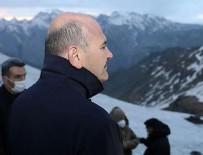 İSMAIL ÇATAKLı - İkiyaka Dağları'ndaki üs bölgesini İçişleri Bakanı Soylu açtı