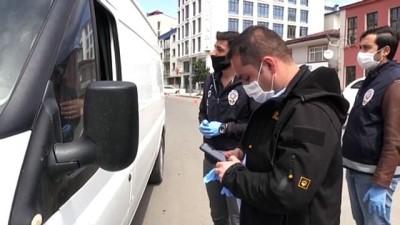 Kars'ta Polis, Aracıyla Hastaneye Gitmeye Çalışan Kalp Hastasına Destek Oldu