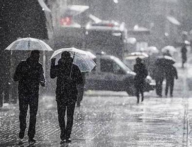 Meteoroloji uyardı: Sel, dolu yağışı...