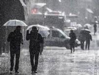 DOLU YAĞIŞI - Meteoroloji uyardı: Sel, dolu yağışı...