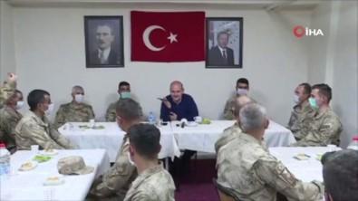 Cumhurbaşkanı Erdoğan, Hakkari İkiyaka Dağları'ndaki Askerlerin Bayramını Tebrik Etti