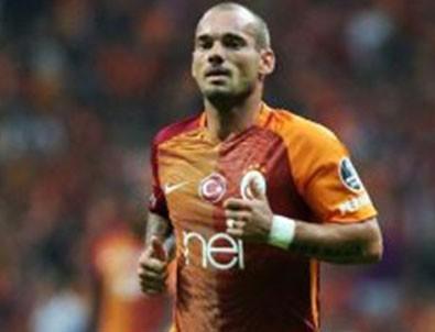 Galatasaray'dan Wesley Sneijder sürprizi!