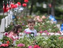 BAYRAM ŞEKERİ - Şehit yakınları bayramın ilk günü evlatlarının kabrine koştu