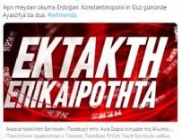 KABİNE TOPLANTISI - Ayasofya kararı Yunan basınında!
