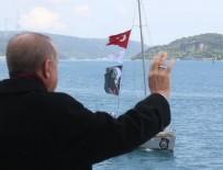 İSTANBUL BOĞAZI - Başkan Recep Tayyip Erdoğan'dan İstanbul'un Fethi mesajı!