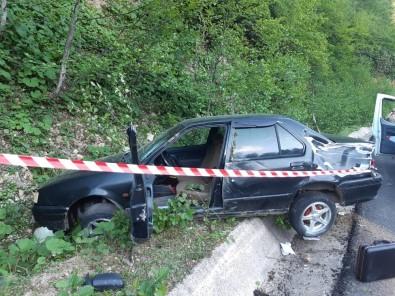 Dereli'de Trafik Kazası Açıklaması 1 Ölü