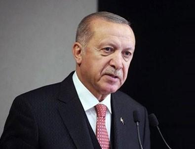 Erdoğan'dan şehitler için başsağlığı mesajı!