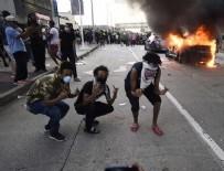 BEYAZ SARAY - Siyahi Amerikalı Floyd'un öldürülmesine yönelik protestolar 4. gününde