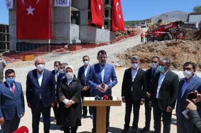 Bakan Kurum, Malatya'da Deprem Konutlarını İnceledi